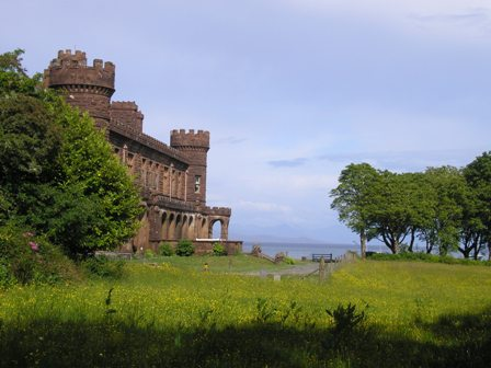 Kinloch Castle - not part of the Rum community buy out