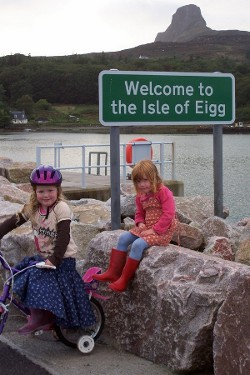 Image of Eigg harbour